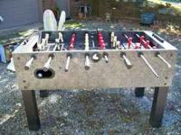 Foosball table for sale. $75.00 OBO. Call or text .