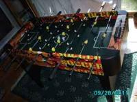 Kids foosball table great shape and our kids had a
