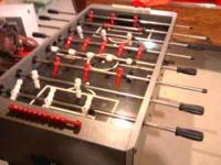 I have a foosball table that is used very little and in