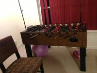 I have a Halex Foosball table for sale has electronic
