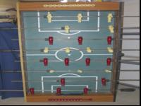 Used Foosball table, in great shape, just cleaning out