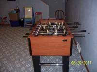 Sportcraft foosball table game, used very little and