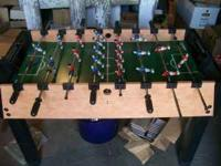 FOR SALE: Smaller Size Foosball Table for recreational