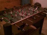 Python foosball table with electronic score board