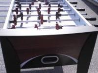 I have a foosball table for sell in great conditioni