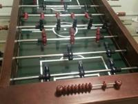 Perfect for mans cave or game room . I have a foosball
