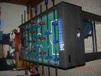 Heavy duty foosball table $150 Call  Location: