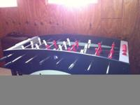 Foosball Table for sale. Excellent Condition. For more