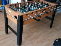 Almost ideal condition. Pretty suitable sized foosball