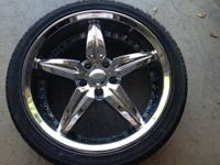 selling a set of 4 19' foose speedsters on nexen tires
