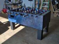 Beck S Imported German Beer Branded Foosball Game Table