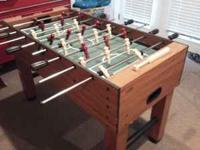 i have a regular size fooseball table for sale. very