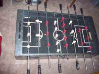 fooseball table for sale, good condition. legs are off