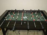 Selling a kids combo table as a foostball only (it has