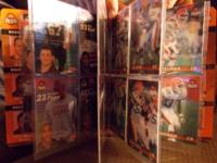 Set of 1999 Cleveland Browns trading cards made