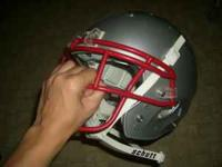 Nice football helmet, almost brand new, tiny scratches