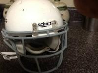 I have a youth medium football helmet for sale still in