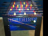 Foozeball Gaming Table; also comes with a total of 15