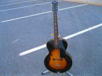 I have a beautiful Gibson made Cromwell guitar from the