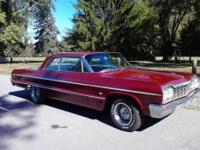 1964 Chevy Impala 2-Door Hard Top Muscle Car from North