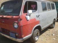 We are dismantling a 1964 Chevy Van call, email or