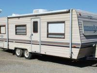 FOR SALE: 1987 American Star Travel Trailer. Smoke free