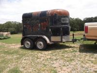 For sale: Tandem Axle 2 Horse Trailer $2000.oo OBO *