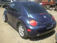 We are parting out a 2000 Volkswagen Beetle call, email