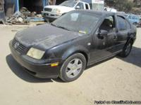 For Parts: 2002 Volkswagen Jetta We are dismantling a