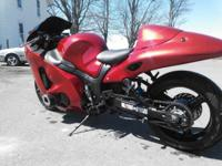 FOR SALE: 2007 HayaBusa TURBO $12,500. This bike is