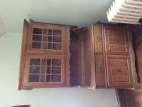 For sale: beautiful display cabinet. The top and bottom