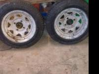 I have some tires with rims. First is two twleve inch