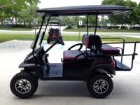 $7500 Gas lifted golf cart with high speed gears (30