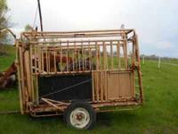 --for most portable squeeze chute,has w30 head gate,
