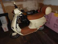 FOR PARTS 2003 Vespa 50cc 2,641 Miles, damage front NO