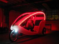 -(1) Veloform City Cruiser I Pedicab--the only one in