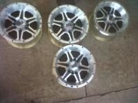 "FOR SALE 12""ITP RIMS SS 106 THEY ARE A COMPLETE SET AND"