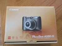 Like new Canon Powershot A590 IS in original packaging