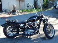 I HAVE A 1992 HARLEY DAVIDSON SPORTY -883 BUILT TO