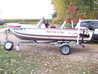 model is a 1500 fun/fish model.  has a good running 15