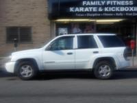 White 4 door Suv. Great condition aoutomatic 4 wheel