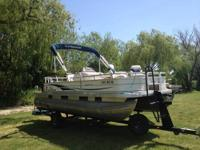2008 Sun Tracker 21.7' Fishin' Barge