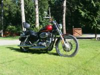 Selling immaculate 1200cc Custom Harley, fuel injected,