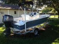 2013 Key West 186 CC Sportsman.  Yamaha 115