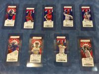 For Sale - 2015 Texas Rangers Collectible Tickets $7.00