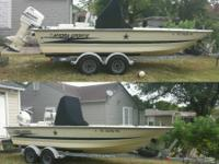 1985 Hydra-sports 25 ft  c c  with twin 1999 Yamaha 150 HP
