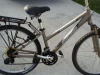 I am selling a 36 inch specialized mountain bike. Frame