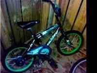 16 inch huffy boys bike bought last christmas, but