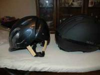I HAVE 2 BRAND NEW RIDING HELMENTS FOR SALE. OVATION