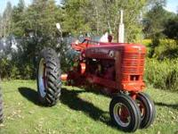 1948 farmall super m new paint all